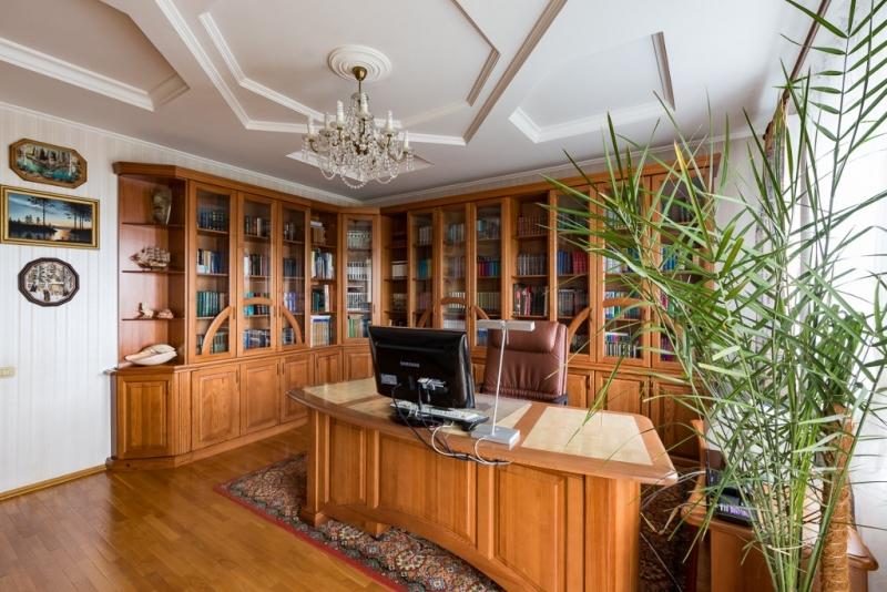 Кабинет Вектор из массива дерева в лучших традициях классики