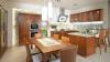 Кухня Канон из натурального дерева светлых тонов в современной классике
