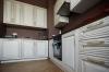 Кухня Фидель прямого типа в стиле классики белого цвета
