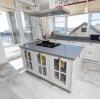 Кухня Кристина из массива в классическом стиле белого цвета