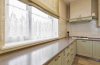 Кухня Ян синего цвет на две отдельные секции