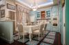 Кухня Энли угловая из массива белого цвета в классическом стиле