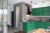 Кухня Сударь из массива в стиле классики белого цвета