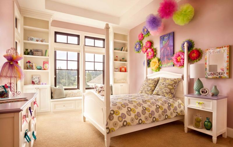 Купить Детская Карамелька в теплых тонах для комнаты девочки  под заказ