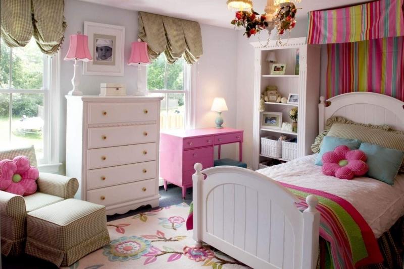 Детская Семицветик  в современном стиле прованс для комнаты девочки