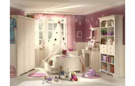 Купить Детская Волшебство в белом цвете из множества модулей выполненных в классическом стиле  под заказ