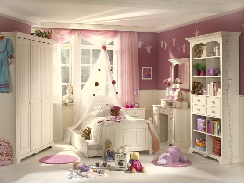 Детская Волшебство в белом цвете из множества модулей выполненных в классическом стиле