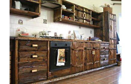 Купить Кухня Градислава прямого типа со столешницей из акрила  под заказ