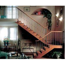 Деревянная лестница в доме – красота и практичность