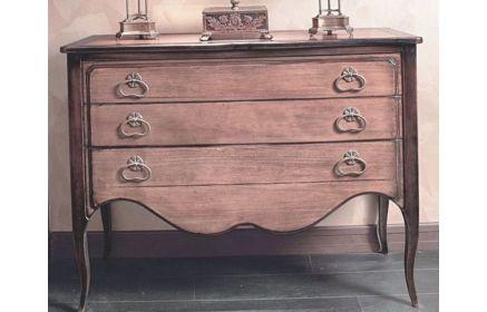 Купить Комод Света в классическом изысканном стиле с тремя выдвижными ящиками  под заказ