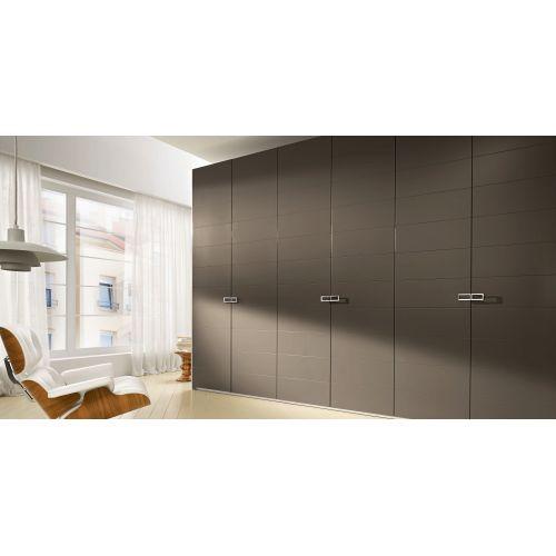Шкаф Сударь 6 дверей серо-коричневое дерево