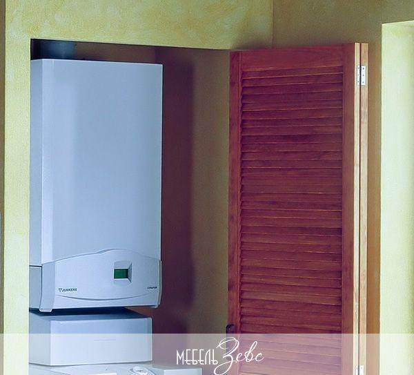Кухня с газовым котлом 04