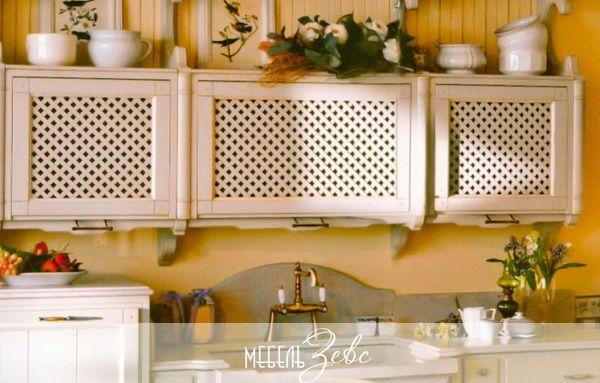 Интерьер маленькой кухни на даче