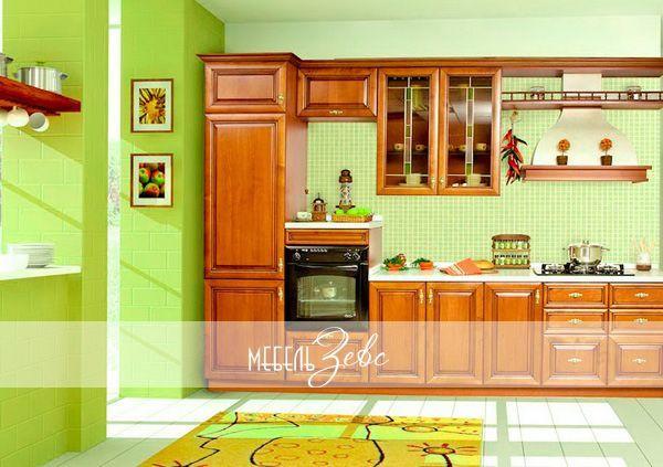 Интерьер маленькой кухни 04