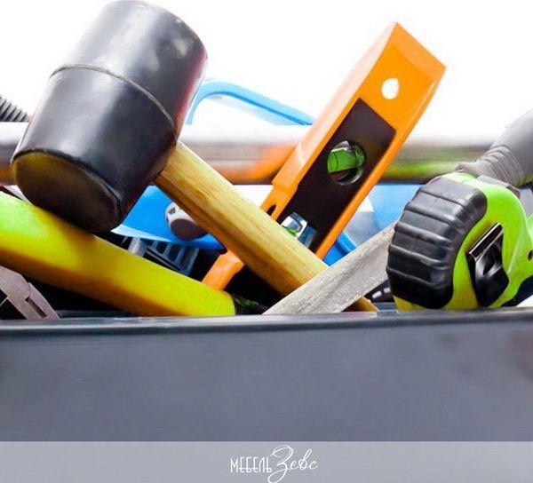 Как повесить шкафы на кухне 05