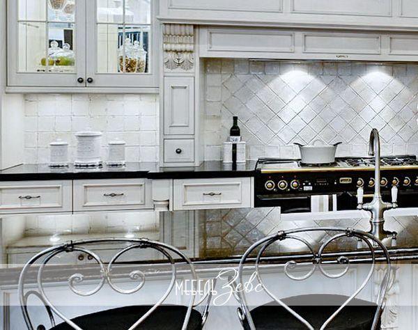 Кухонный гарнитур в стиле шебби-шик