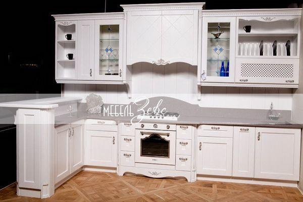 Кухня прованс из массива