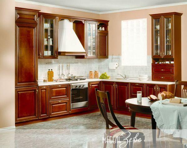 Перенос кухни в жилую комнату пример