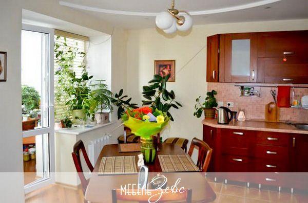 Кухня в жилой комнате