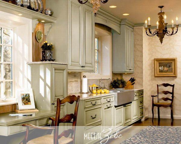 Современная кухня в классическом стиле фото